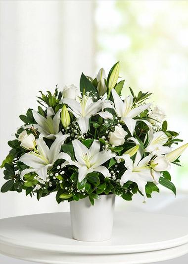 lilyum çiçek sepeti çiçeği ile ilgili görsel sonucu